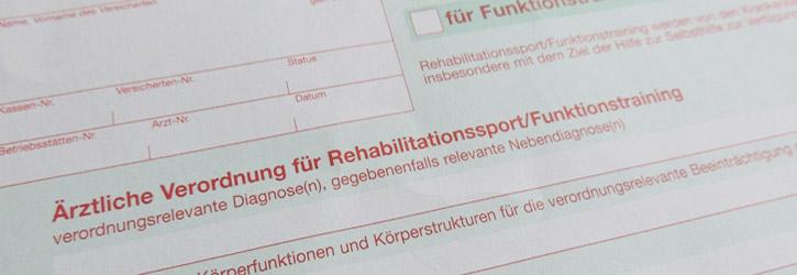 Rehasport auf Rezept Fitnesspark in Limburg