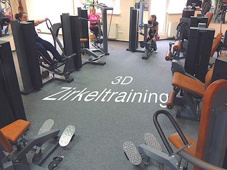 3D Zirkel Zirkeltraining im Fitnessstudio in Limburg