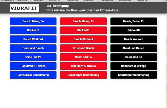 Vibrafit Fitnessstudio in Limburg