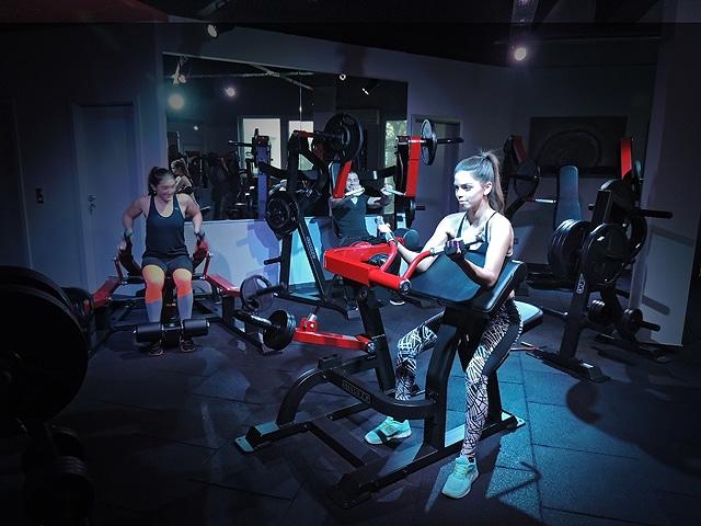 Fitness Gym Fitnesspark in Limburg Muskeln