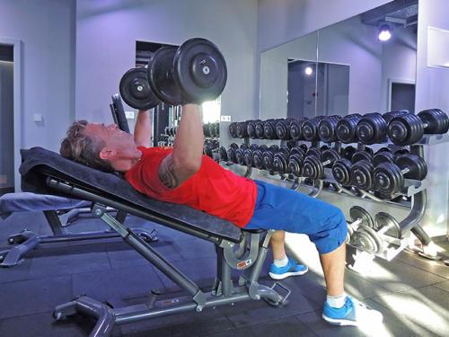 Fitnessstudio Limburg Muskeln aufbauen